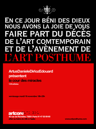 L'Art Posthume International