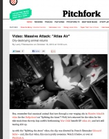 "Pitchfork : Video: Massive Attack: ""Atlas Air"""